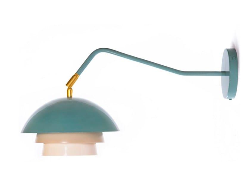 Lampada da parete a luce diretta con braccio fisso SUEDOISE 03-LA58 by Luminaire Authentik