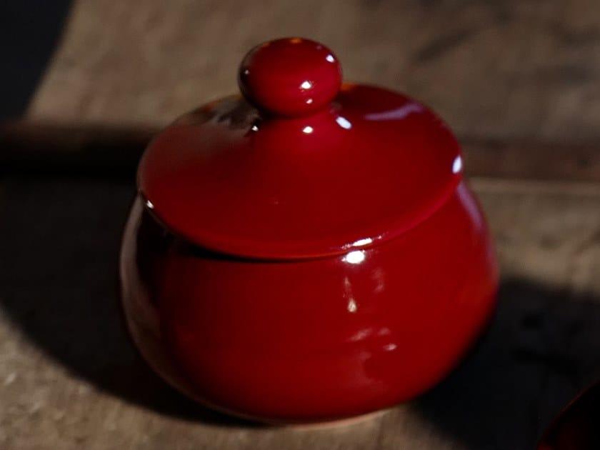 Ceramic sugar bowl IL GRANCOLORE   Sugar bowl by Cerasarda