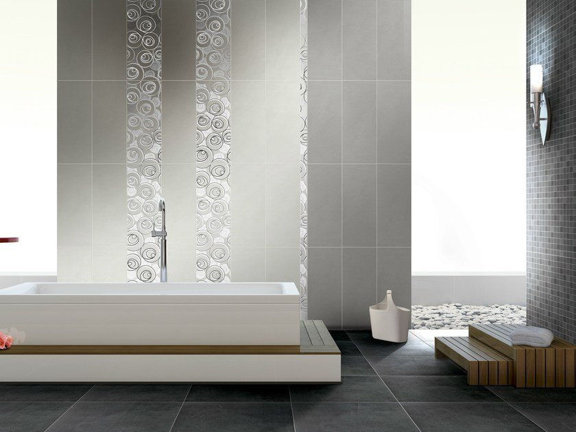 Double-fired ceramic wall tiles SUITE CURL by CERAMICHE BRENNERO