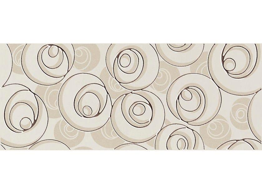 White-paste wall tiles SUITE CURL MOKA by CERAMICHE BRENNERO