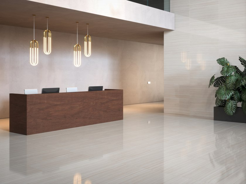 Wall/floor tiles with marble effect SUITE by Museum
