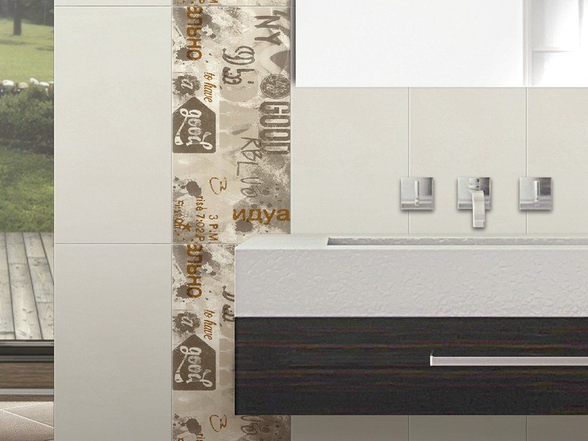 Double-fired ceramic wall tiles SUITE URBAN by CERAMICHE BRENNERO