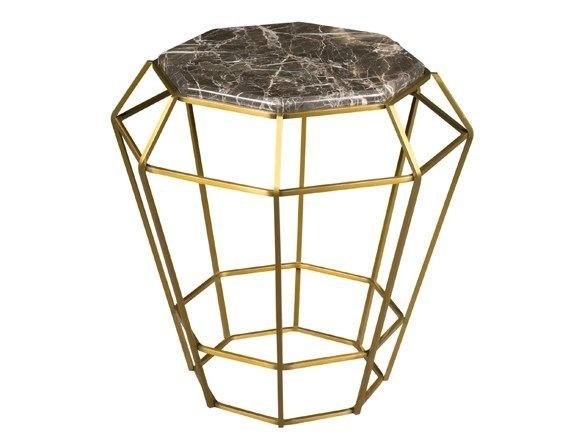 Marble side table SULTANA | Marble coffee table by Hamilton Conte Paris