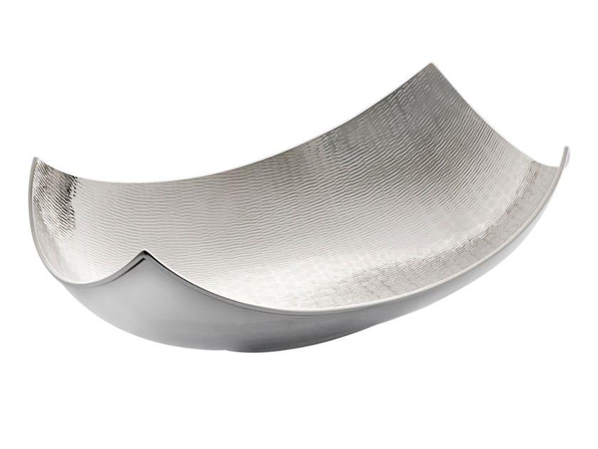 Silver bowl / centerpiece SUMATRA by ZANETTO