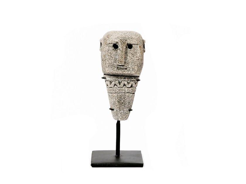 Natural stone decorative object SUMBA STONE STATUE #10 by Bazar Bizar