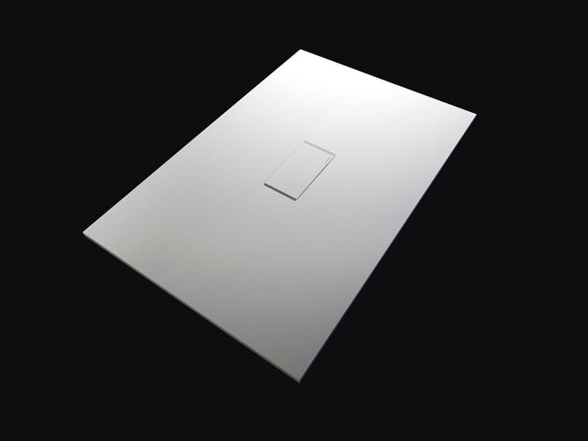 Custom Moodlight shower tray SUMISURA by Antonio Lupi Design