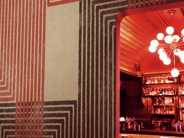 Ecological fire retardant wallpaper SUMMER NIGHT CITY by Wall&decò