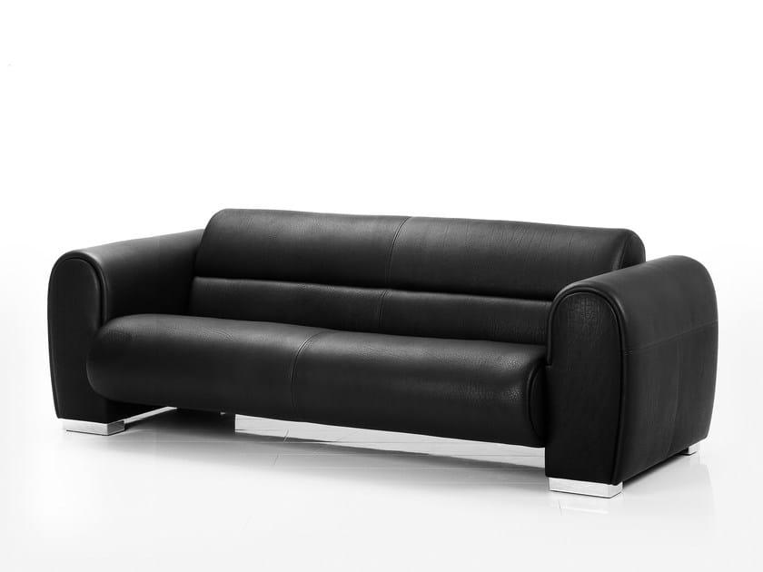 Leather sofa SUMO   Sofa by brühl