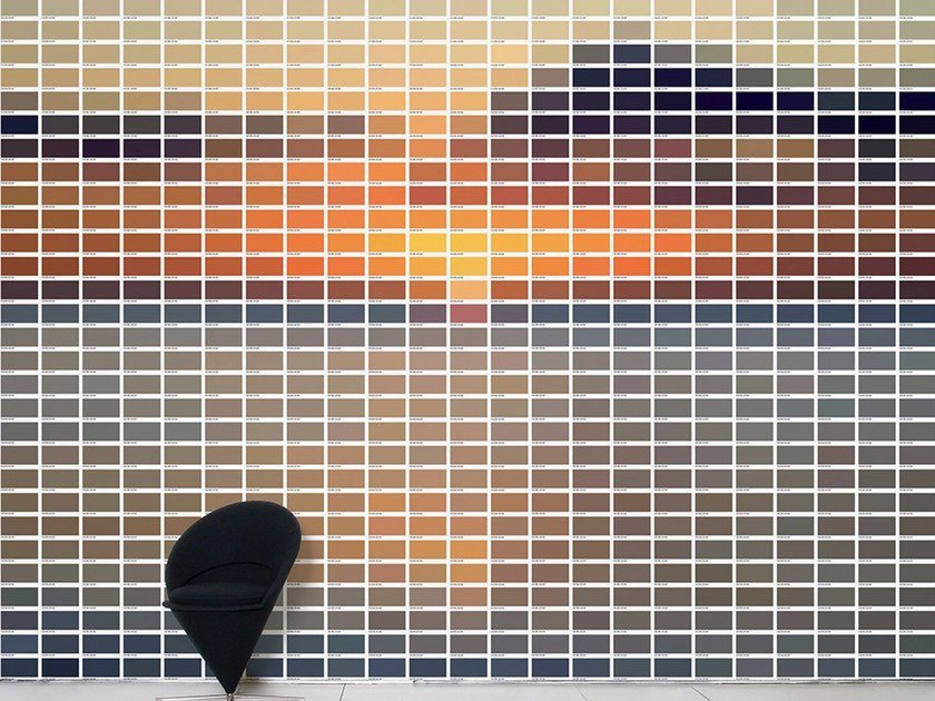 Wallpaper SUN 736 by Moustache