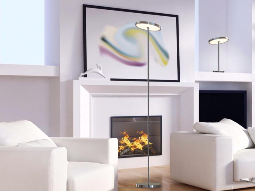 LED adjustable floor lamp SUN FLOOR DOWN LIGHT by Top Light
