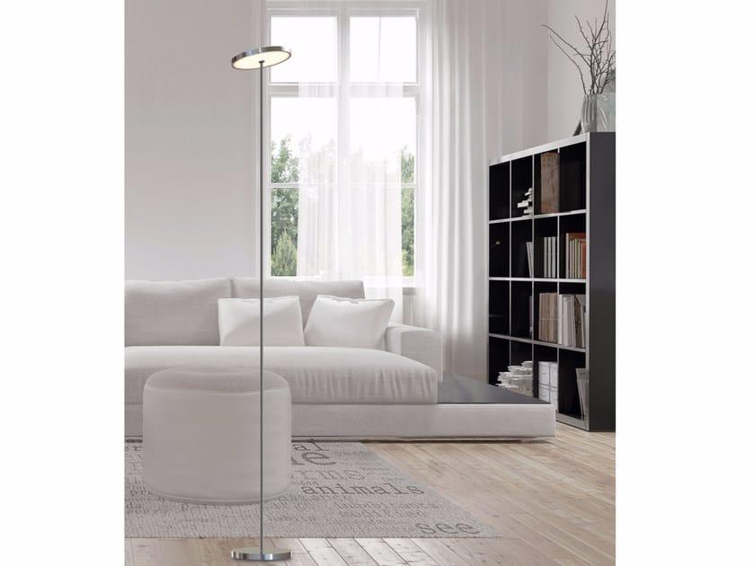 LED adjustable floor lamp SUN FLOOR UP OR DOWN LIGHT by Top Light
