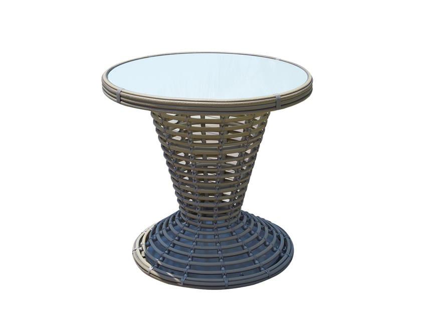 Tavolo da giardino rotondo in polipropilene per contract SUNDAY 23300 by SKYLINE design