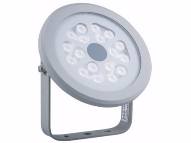 LED adjustable Outdoor floodlight SUNNY 18 by TEKNI-LED
