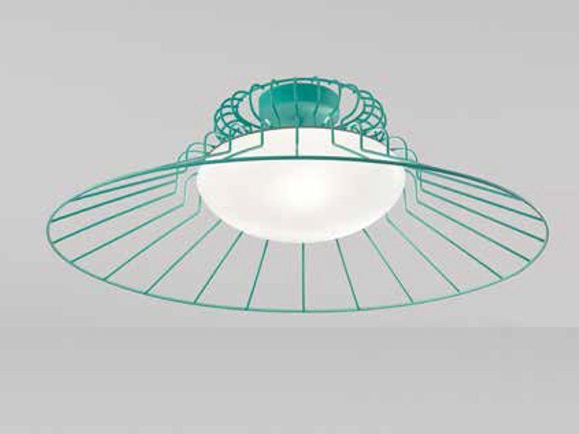 Murano glass ceiling lamp SUNRISE LC 613 by Siru