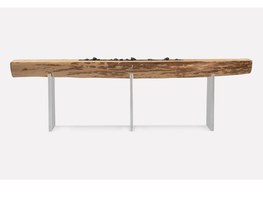 Rectangular oak console table SUNSET | Console table by MORADA