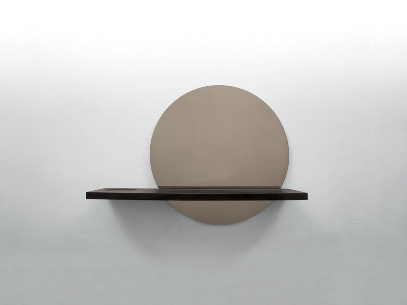 Round wall-mounted mirror SUNSET by Tonin Casa