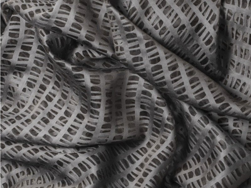 Fabric with graphic pattern for curtains SUOMI VISON by Equipo DRT