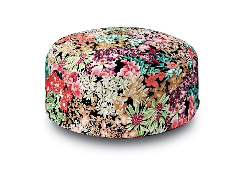 Fabric pouf SUOMI | Pouf by MissoniHome