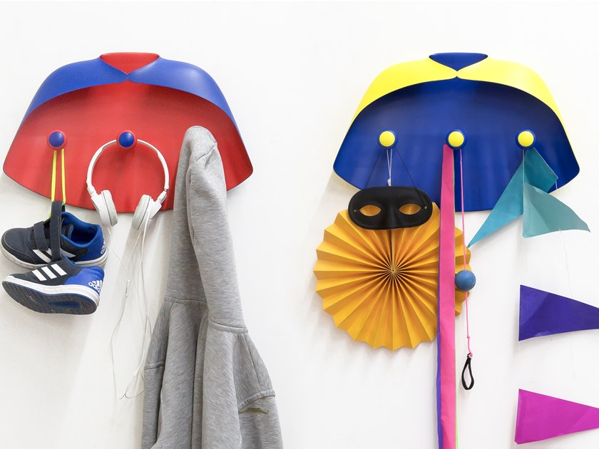 Wall-mounted coat rack SUPER HANGER by LEBLON DELIENNE