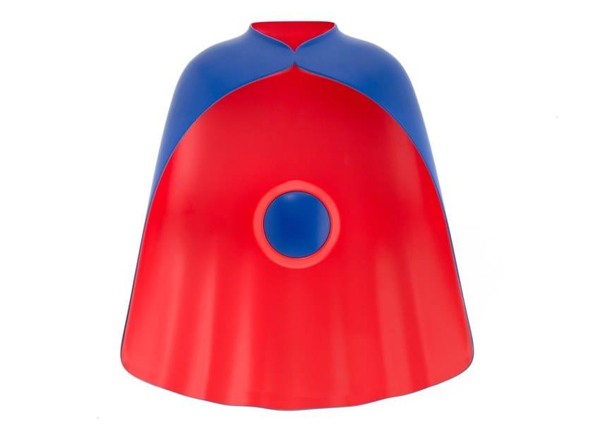 Wall-mounted coat rack SUPER HANGER SMALL by LEBLON DELIENNE