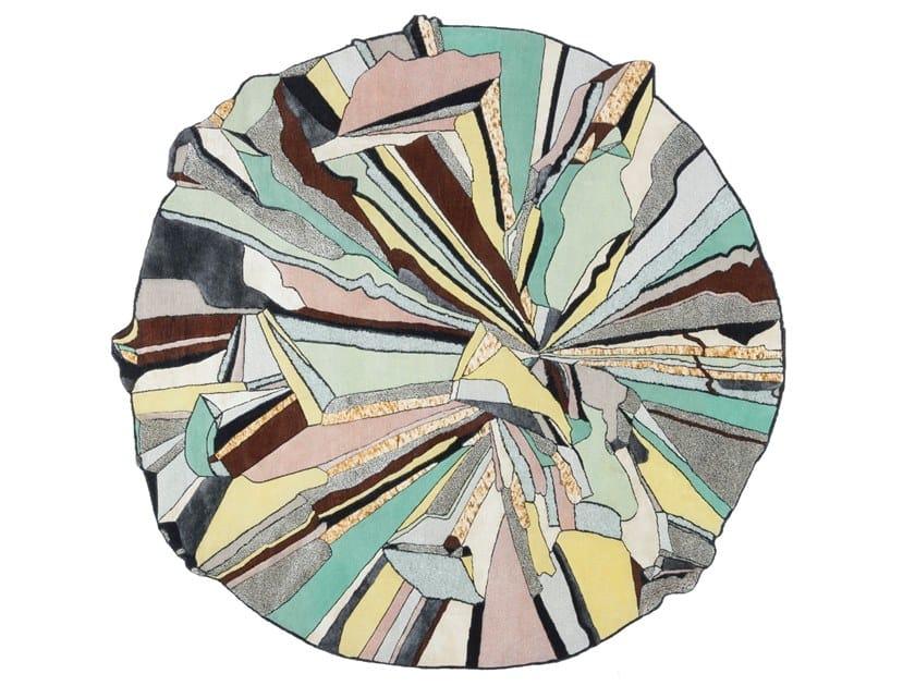 Round rug SUPER ROUND by cc-tapis