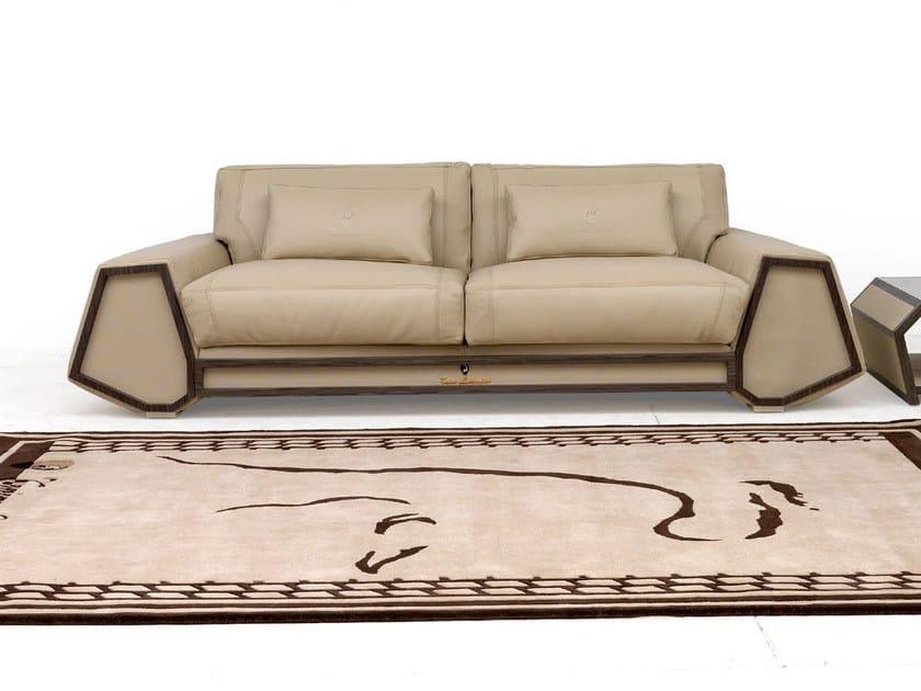 Upholstered 3 seater leather sofa SUPER SPIDER   Sofa by Tonino Lamborghini Casa