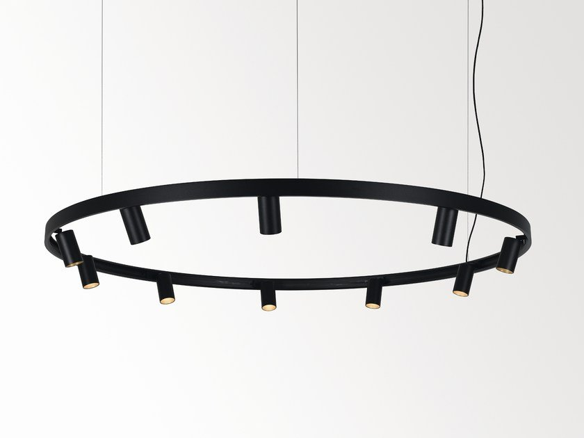 LED pendant lamp SUPERLOOP MDL by Delta Light