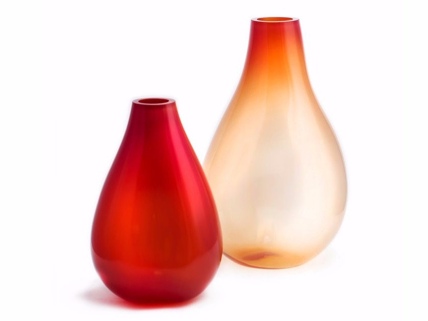 Blown glass vase SUPERNOVA III by ELOA