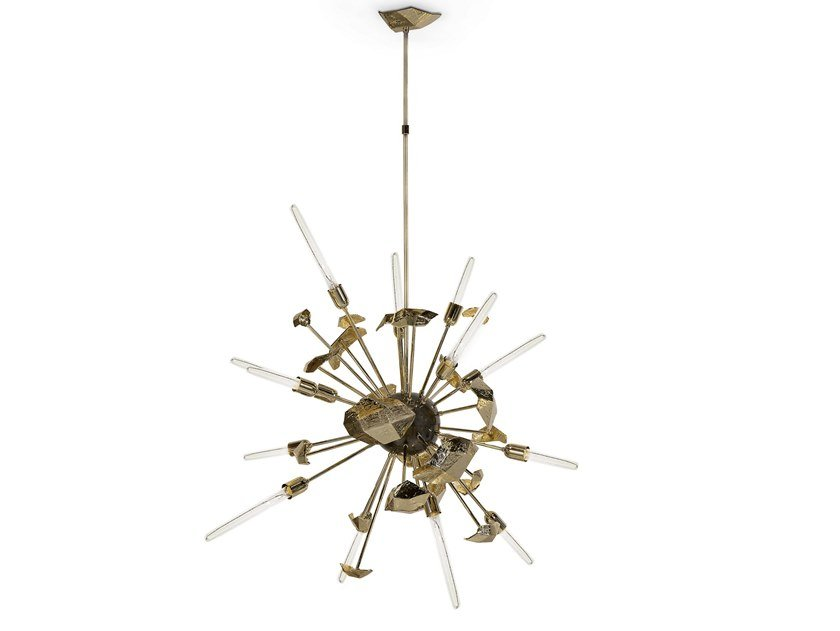 Brass pendant lamp SUPERNOVA | Pendant lamp by Boca do Lobo