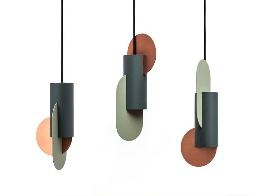LED metal pendant lamp SUPREMATIC CS1 THREE LAMP SET by NOOM