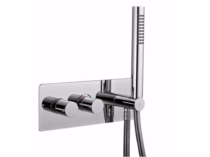 Thermostatic shower mixer with hand shower SURF - F8278 by Rubinetteria Giulini