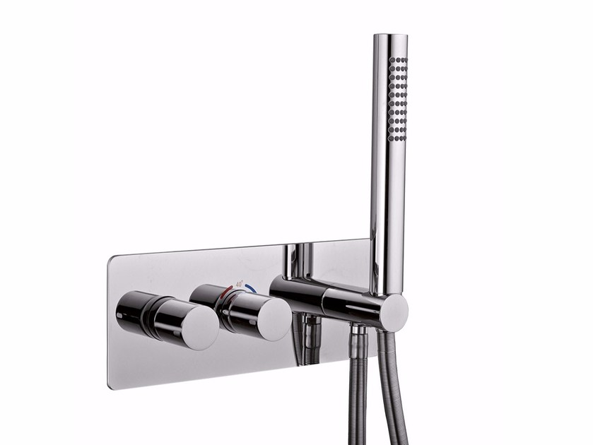 Shower tap with hand shower SURF - F8279 by Rubinetteria Giulini