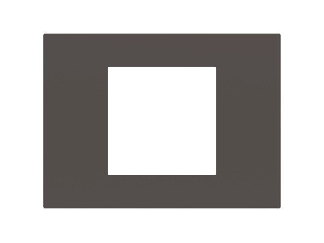 Wall plate SURFACE rectangular plate by Ekinex