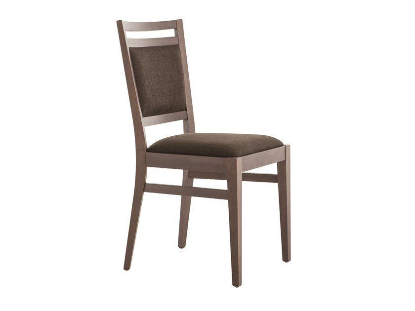 Upholstered beech chair SURI 472C.i1 by Palma