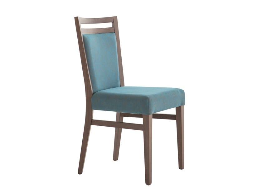 Upholstered beech chair SURI SOFT 472F.i4 by Palma