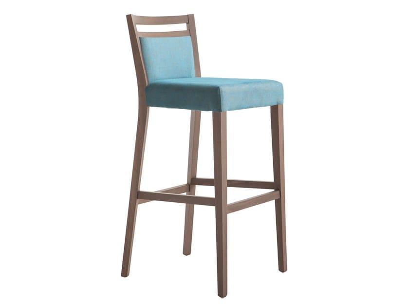 High beech stool SURI SOFT 472FI.i4 by Palma