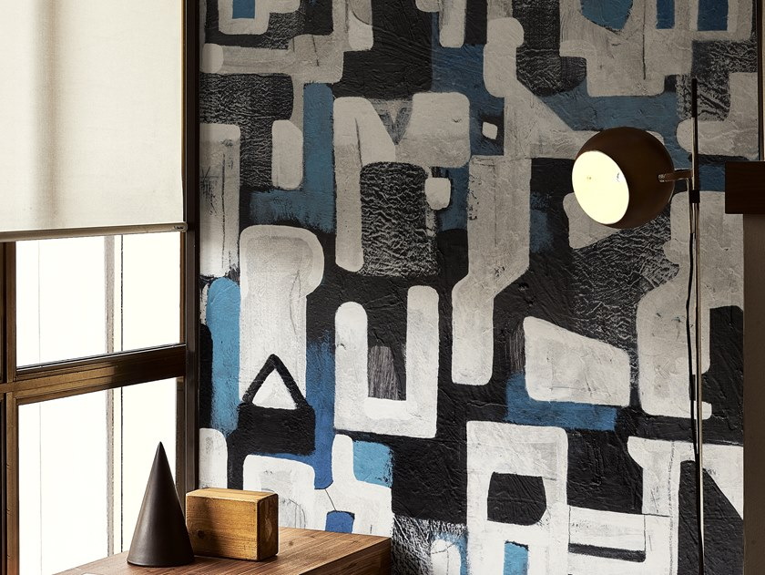 Motif wallpaper SUSPICIOUS by Wall&decò