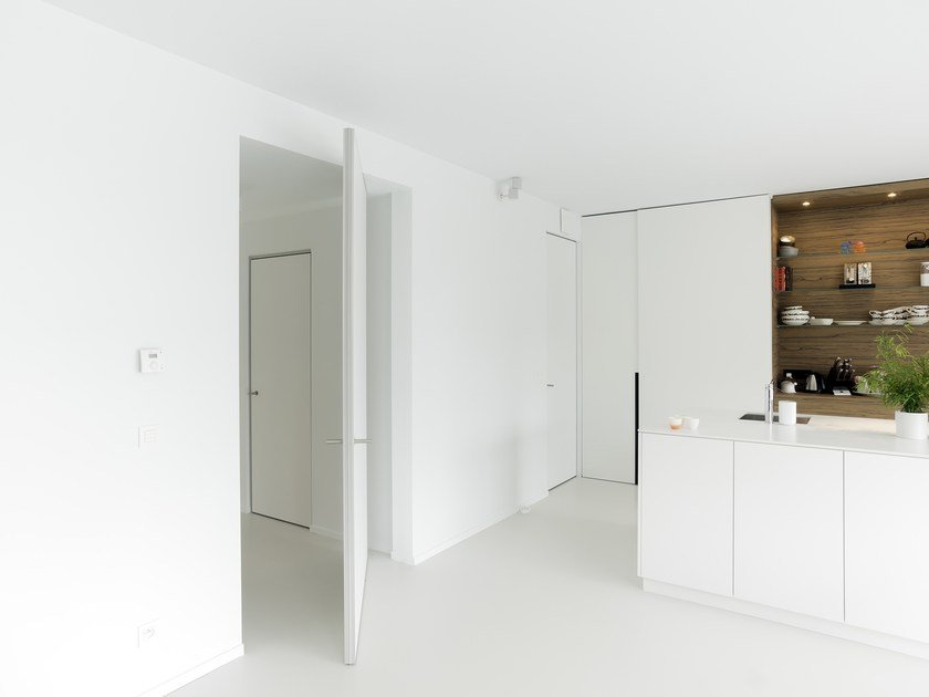 HPL pivot door without frame SVD FRAME-A-WAY by Anyway Doors