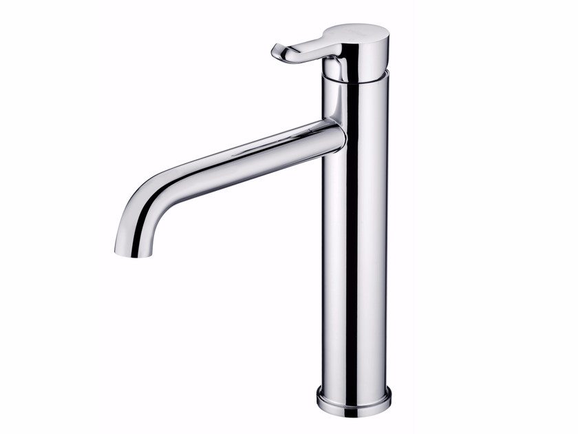 Countertop single handle 1 hole chromed brass kitchen mixer tap SWEET | Kitchen mixer tap by JUSTIME