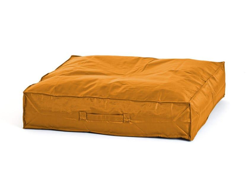 Rectangular polyester floor cushion SWING by Atipico
