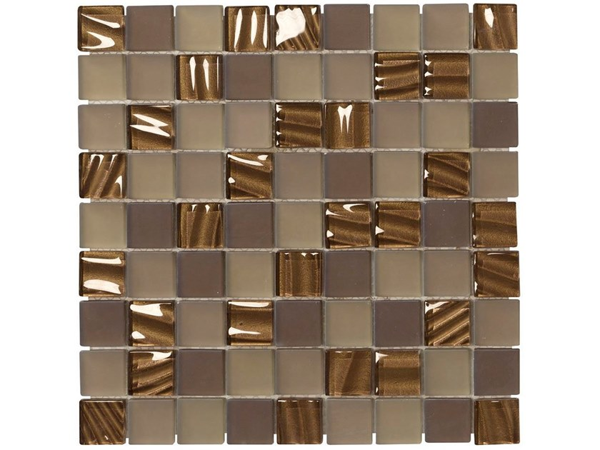Glass mosaic SWING by BOXER