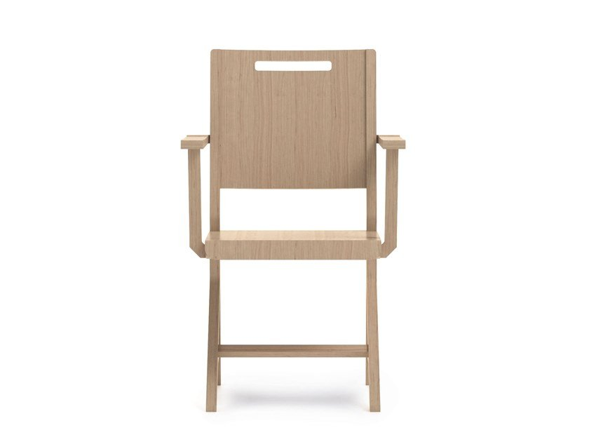 Beech chair with armrests SWING | HEALTH & CARE | Beech chair by PIAVAL