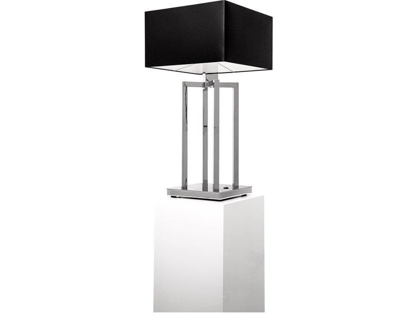 Direct-indirect light metal table lamp SWINGING BALLET T1 | Table lamp by ILFARI