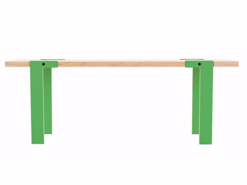 Multi-layer wood bench SWITCH BENCH 04 by rform