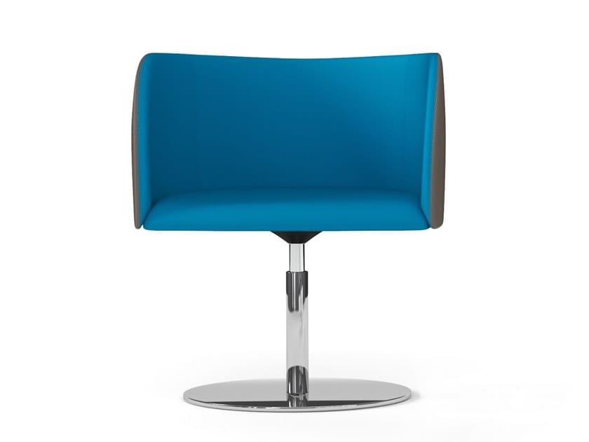 Swivel easy chair ROUND | Swivel easy chair by Arte & D