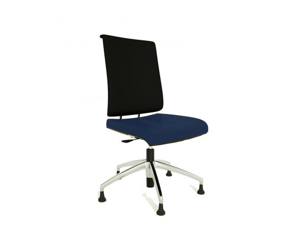 Swivel task chair with 5-Spoke base ZERO7 EVO | Swivel task chair by Ares Line