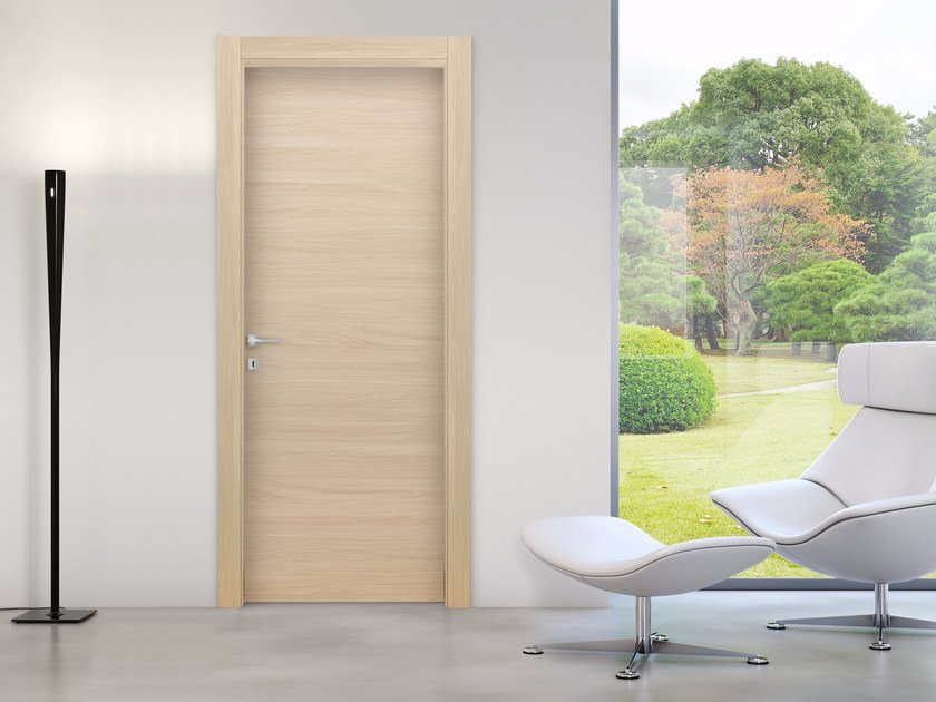 Hinged laminate door SYDNEY GRAFITE By Bertolotto Porte