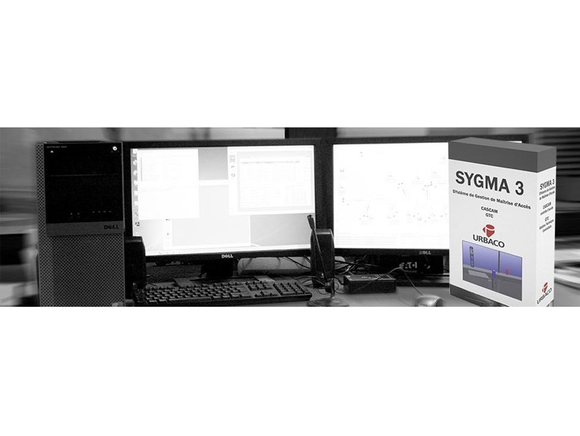 Automatic access control SYGMA 3 by CAME