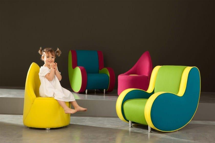 Kindersessel design  SYMBOL BABY By Adrenalina design Simone Micheli