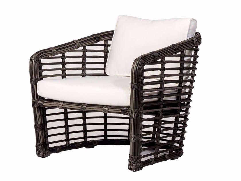 Garden armchair with armrests SYMI   Garden armchair by MOBIKA GARDEN